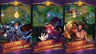 Game MOBA dengan 4 Skill Aktif - Heroes Arena (Android/iOS)
