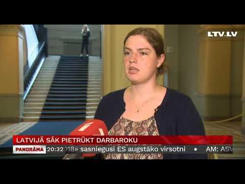 Latvijā sāk pietrūkt darbaroku