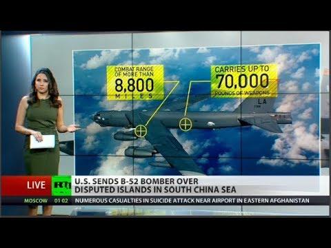 US flies heavy bomber over South China Sea