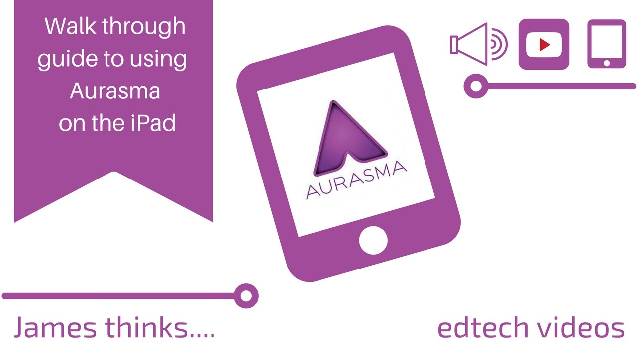 Quick guide to using Aurasma app - YouTube