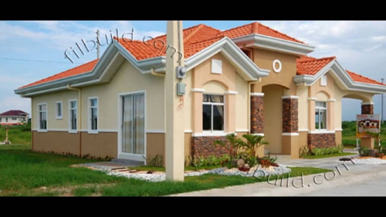 Modern Bungalow House Model/Design in 2017 - YouTube