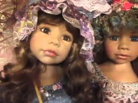 Masterpiece Dolls Allison, Alanna And Candy By Monika Levenig