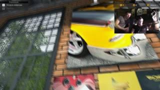 серега и Диман Обзор игры car mechanic simulator 2016