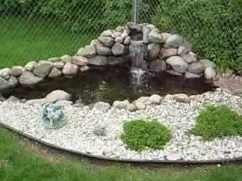 Aquatic Innovators Llc Corner Pond With Waterfall And