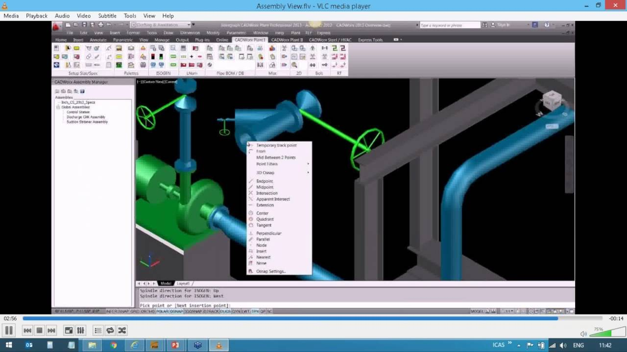 cadworx plant professional how to create and use assembly view youtube rh youtube com CADWorx Plant Training 2014 CADWorx Plant Training 2014