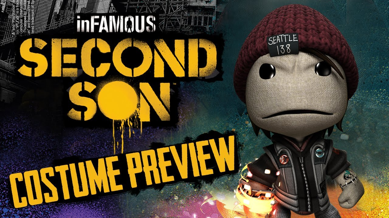 LittleBigPlanet 2 DLC - Infamous: Second Son Costume ...
