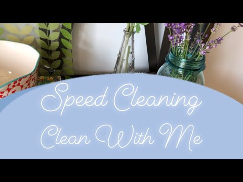 💦Speed Clean | Clean With Me🚰