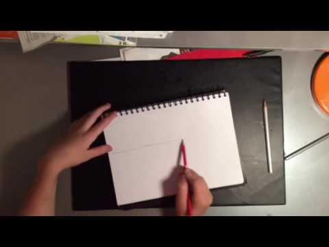 Dessin D Une Vile Futuriste En Deux Points De Perspective Youtube