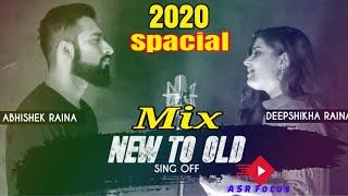 Download Lagu New To Old Bollywood  Mashup | Sing Off | Abhishek Raina & Deepshikha Raina |15 Songs on One Beat mp3