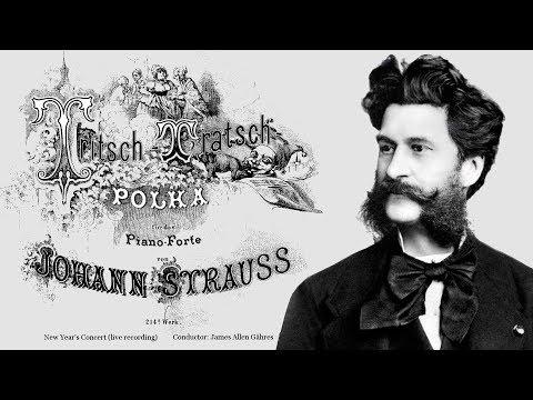 J. Strauss II - Tritsch-Tratsch-Polka, Op. 214 - James Allen Gähres, cond., Ulm Philharmonic