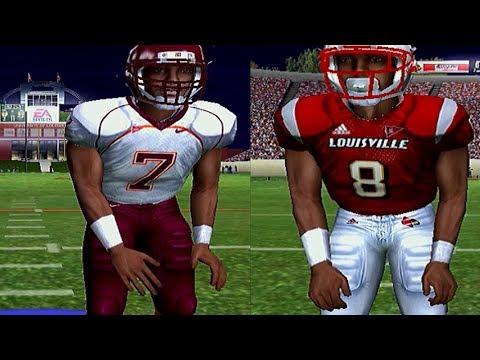 MIKE VICK OR LAMAR JACKSON - NCAA FOOTBALL 06 GAMEPLAY
