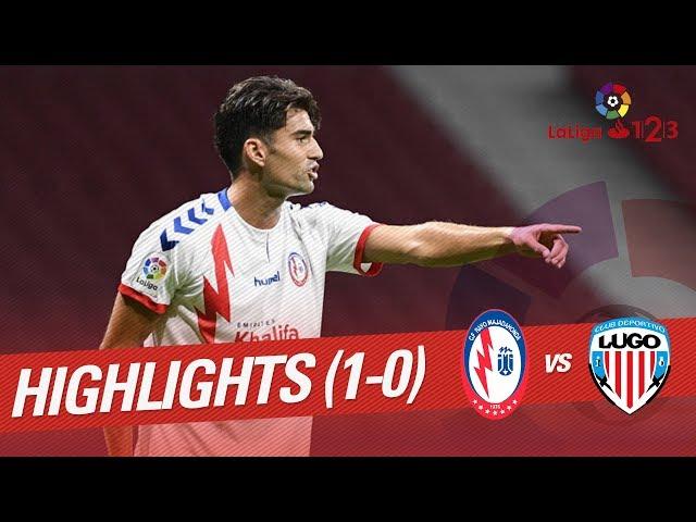 Resumen de CF Rayo vs CD Lugo (1-0)