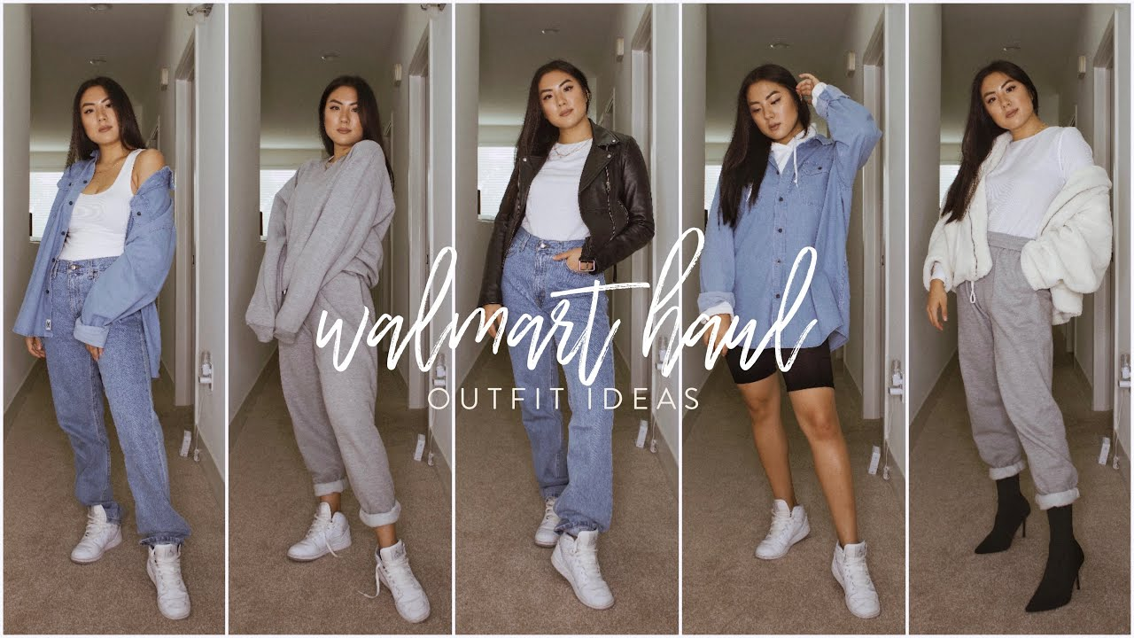 [VIDEO] - What I bought at walmart: Casual fall outfit ideas 4