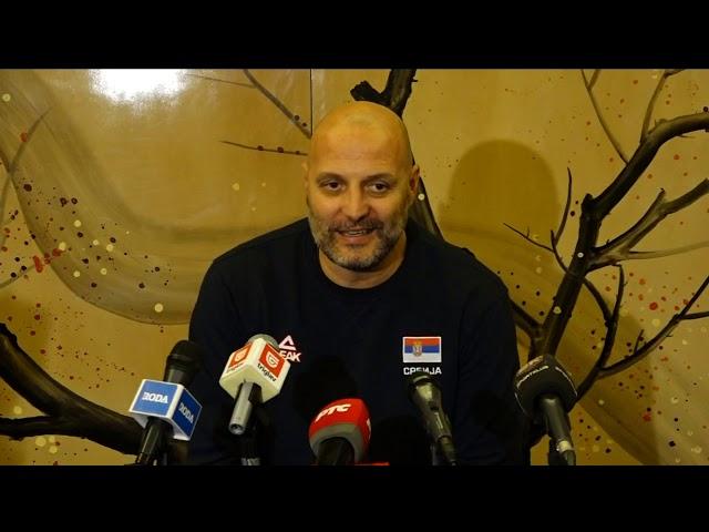 Selektor Saša Đorđević Pred Četvrtfinalni Duel Mundobasketa sa Argentinom | SPORT KLUB Košarka
