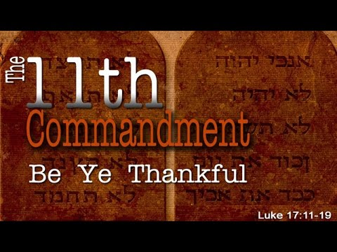 """""""The 11th Commandment"""" by Pastor Dino Andreadis (Oct. 9th, 2016)"""