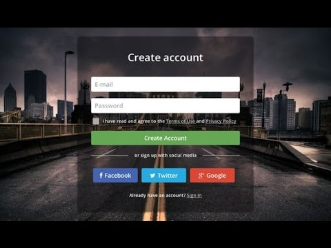 PHP PDO Tutorials PHP Registration and Login form Using database ...