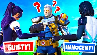 WHICH X-FORCE AGENT is the KILLER? (Fortnite Murder Mystery)