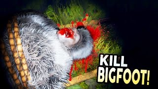 I CAUGHT AND KILLED BIGFOOT! - Finding Bigfoot Gameplay #2