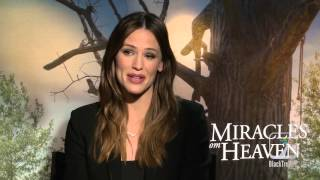 Jennifer Garner and Kylie Rogers Interview Miracles From Heaven