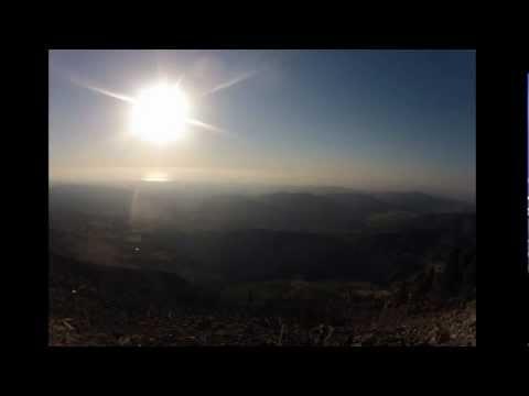 Vallata dello Stilaro: alba 1 settembre 2012 gopro hero hd 2 timelapse