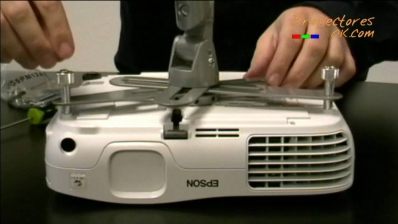 Soporte de proyectores para fijarlo en el techo youtube - Soporte para proyectores techo ...