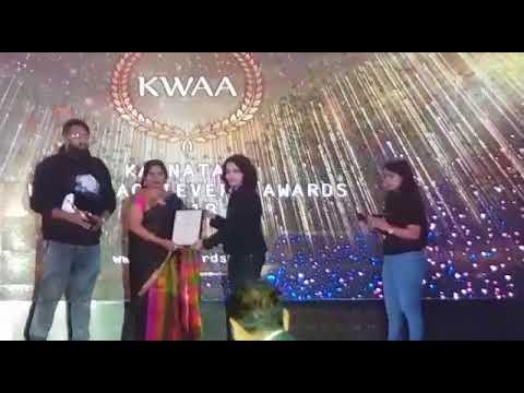 Karnataka Women Achiever's Award