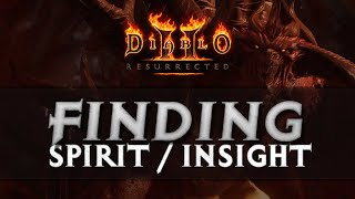 [GUIDE] HOW TO FIND/MAKE SPÏRIT AND INSIGHT - DIABLO 2 RESURRECTED