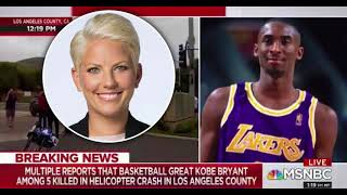 MSNBC Reporter Allison Morris  Makes Racist Comment On The Death Of Kobe Bryant.