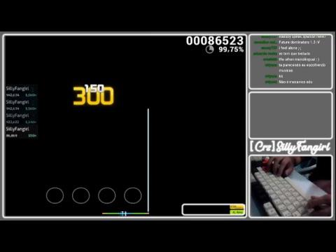 CrzSillyFangirl 23 - Short osumania 4k stream OwO