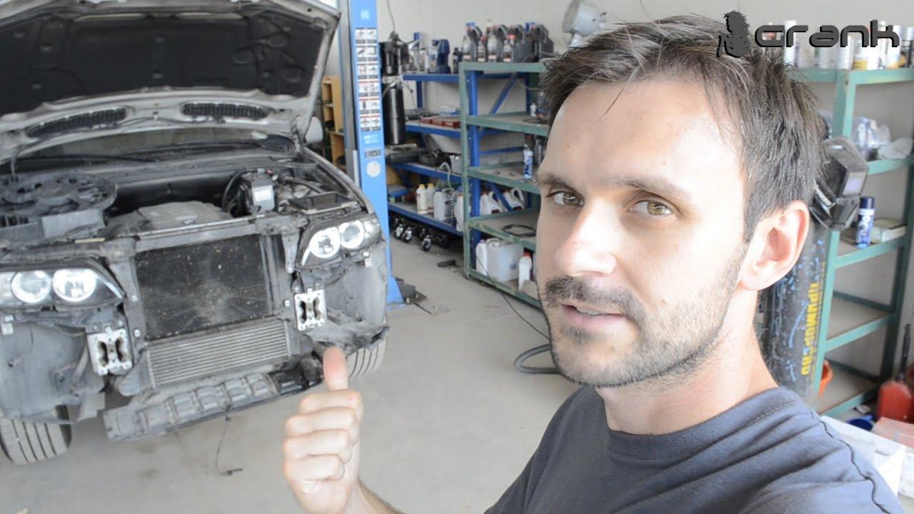 BMW X5 Electric Fan Repair - YouTube