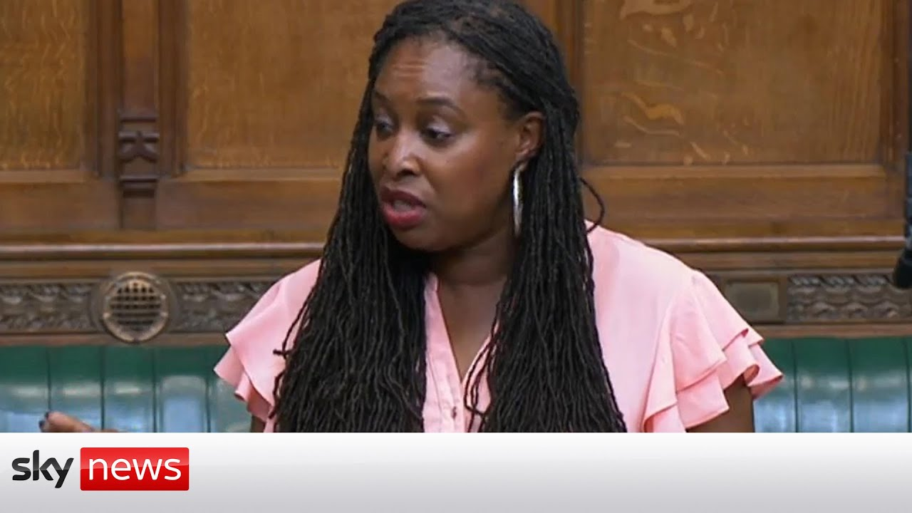 Download Watch the moment Dawn Butler was ordered to leave Commons after saying PM 'lied'