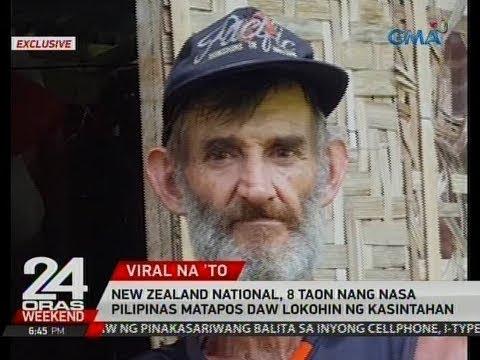 24 Oras: New Zealand national, 8 taon nang nasa Pilipinas matapos daw lokohin ng kasintahan