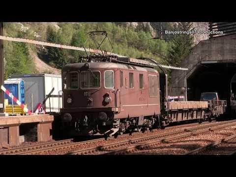 BLS Car Train ~ Lötschberg Tunnel