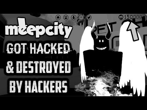 Roblox Meep City Got Hacked Everything That Happened Youtube