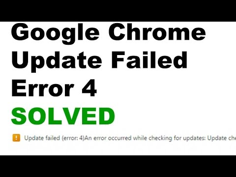 SOLVED Update Failed, An error occurred while checking for