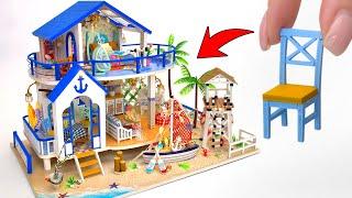 Diy Miniature Beach House By The Sea