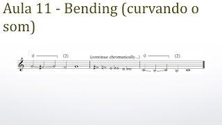 Bending (curvando o som) - Dicas sobre trompete - Prof. Érico Fonseca
