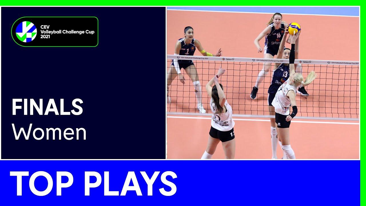 Top 5 Plays Finals - #CEVChallengeCupW