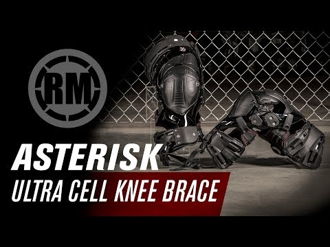 Asterisk Ultra Cell Motocross Knee Brace