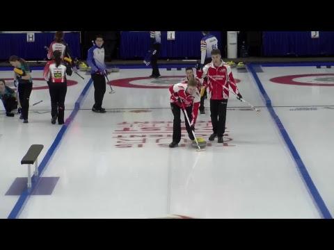 2019 CWG - Curling (M)  - NL Vs BC - Sheet 10