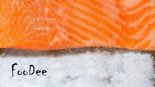 Как засолить красную рыбу. Экспресс-метод за 1 час!