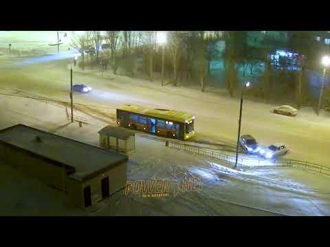 ДТП (авария г. Волжский) ул. Карбышева ул. Оломоуцкая 14-12-2018 22-59