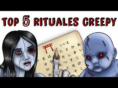 TOP 5 RETOS CREEPYS | Draw My Life