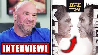 Dana White UPDATE on Khabib vs. Ferguson, UFC 249 situation!, Usman challenges Masvidal, Gaethje