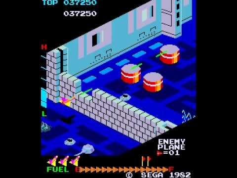 Zaxxon arcade game (69,450)