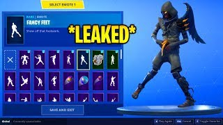 *NEW* CLOAKED SKIN with BEST OF SEASON 5 EMOTES! (Dance Therapy, Fancy Feet, Shake it Up) - Fortnite
