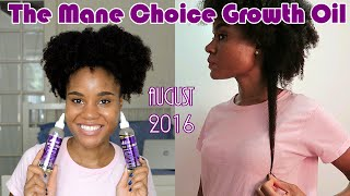 August 2016 Update: The Mane Choice Growth Oil | Length Retention Journey
