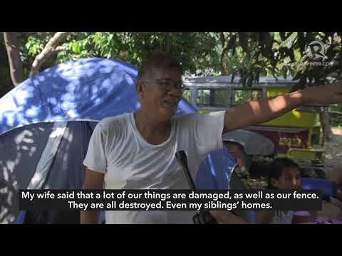 WATCH: Homes damaged due to Luzon earthquake