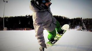 Один сноуборд день в Степаново