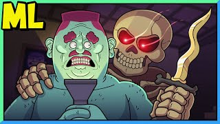 Monster Lab - Bones in the Basement (Episode 3)